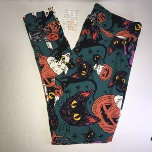Cats Halloween Leggings 2017 LuLaRoe BNWT TC